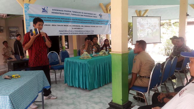 Desa Tanjekwagir Digelontor 40 Unit Mesin Pengusir Hama Ultrasonik