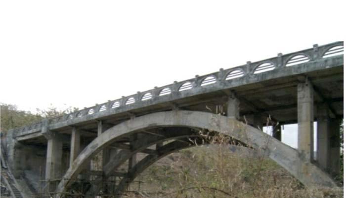 Salah satu jembatan JLS yang sudah dibangun Pemkab Blitar