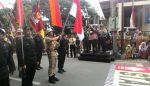 Kirab Napak Tilas Brimob Surabaya-Madiun,  Tiba di Tulunggagung,  Dilepas Bupati Syahri