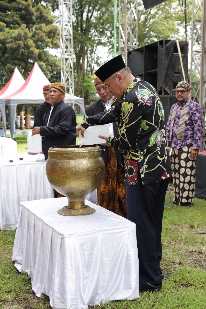Ritual Harjalu ke 762, Pemkab Gelar Ruwatan Nagari Lumajang
