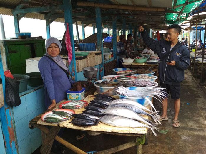 Jelang Tahun Baru, TPI Puger Sepi Ikan