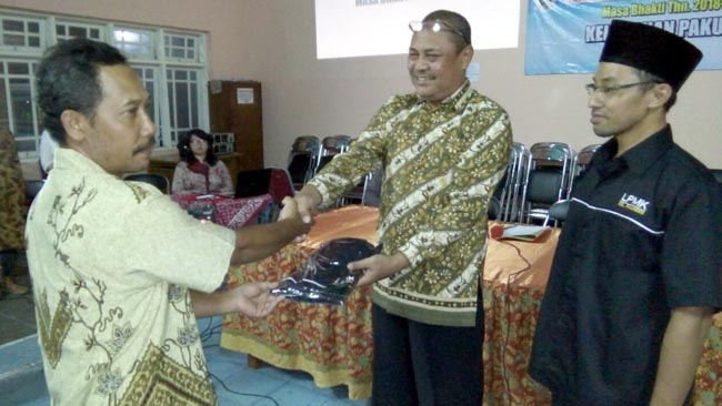 Kelurahan Pakunden Lantik 49 Ketua RTRW