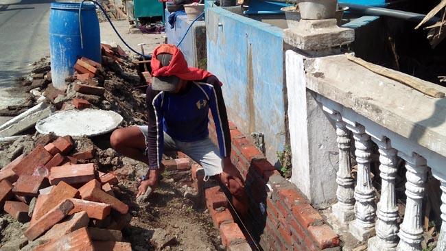 Atasi Banjir, Desa Banjarwungu Perbaikan Saluran