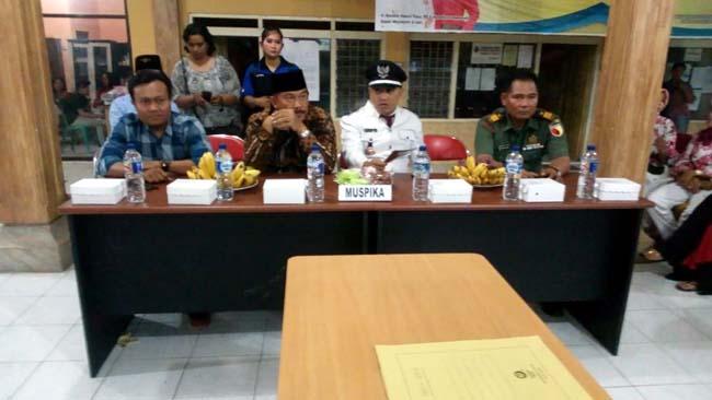 Danramil 081512 Bersama Forpimka Ngoro Hadiri Pelantikan Perangkat Desa