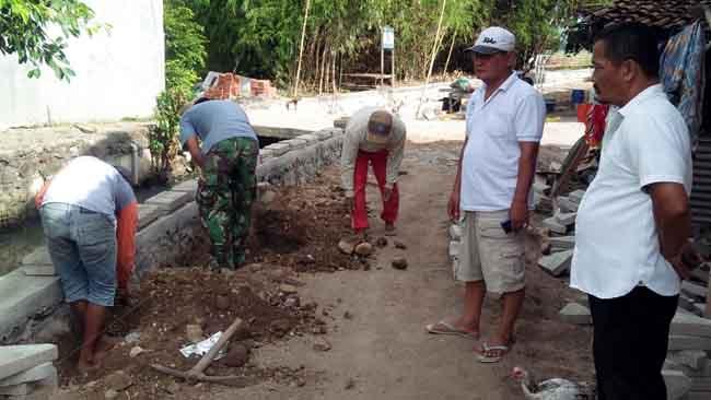 Desa Gamping Buka Jalan Tembus