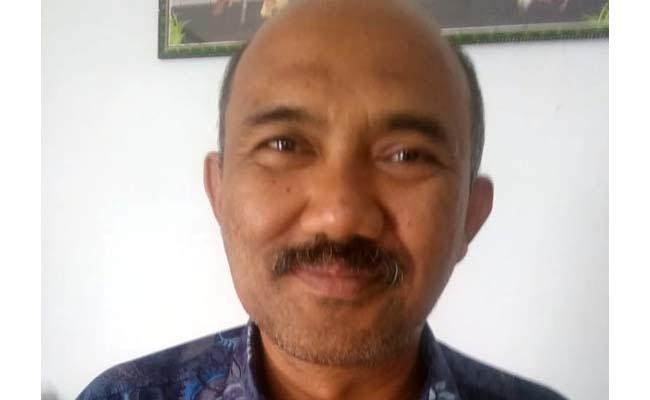 Drs Sugeng Hari Susanta MM, Camat Gedangan. (H Mansyur UsmanMemontum.Com)