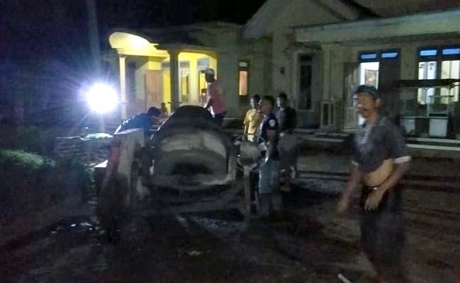BANGUN : Sarana Penerangan Jalan Desa Bumirejo. (istimewa)