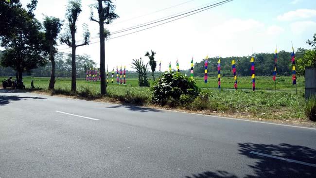 RENCANA : Pembangunan Kawasan Rest Area Danau Bureng Desa Bulupitu Kecamatan Gondanglegi. (H Mansyur Usman/Memontum.Com)