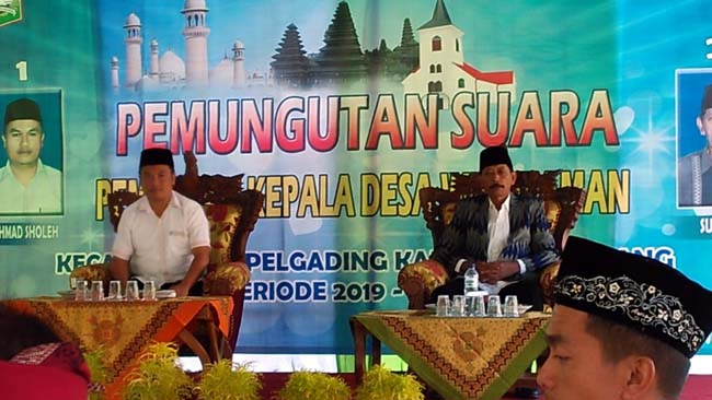 Pelaksanaan Pilkades Wirotaman Ampelgading. (Istimewa)
