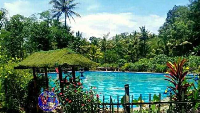 INDAH : Pemandian Wisata Alam Sumber Kembar. (H Mansyur Usman/Memontum.Com)