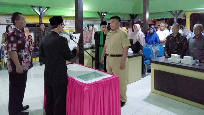 Rendra Widaryanto Jabat Kasi Pemerintahan Desa Kedungsolo