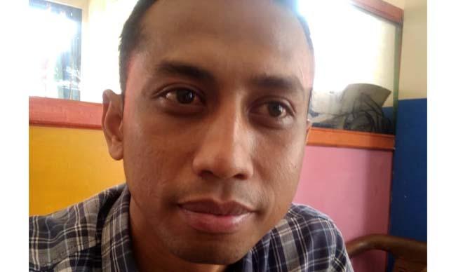 Siswanto S.Pd Direksi 2 BUMDes Maju Jaya. (sur)
