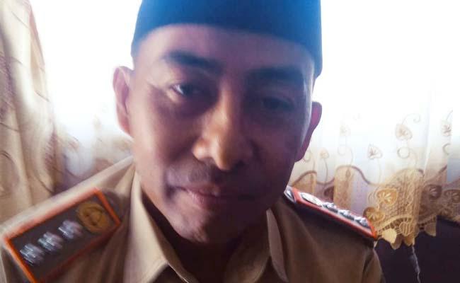 Yateno SH MSi Camat Gedangan. (sur)