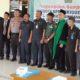 Anggota BPD Simoangin - Angin bersama Forkopimka Kecamata Wonoayu. (par)